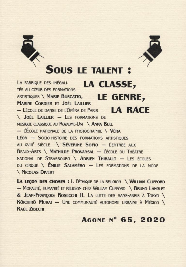 Agone n° 65